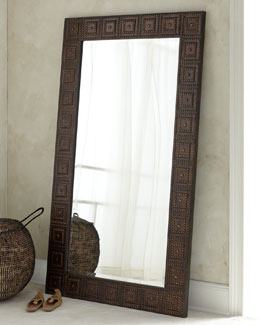"The Uttermost Co ""Adel"" Floor Mirror"