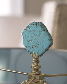 "Hillary Thomas Designs ""Bold Rock"" Finial"