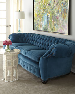 "Old Hickory Tannery ""City Club"" Sofa"