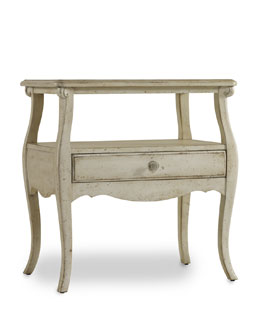 """Cora"" One-Drawer Nightstand"