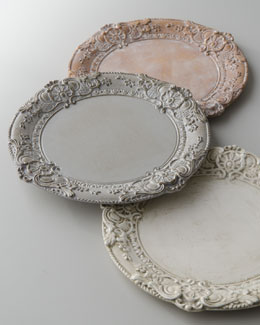 Baroque Charger Plate