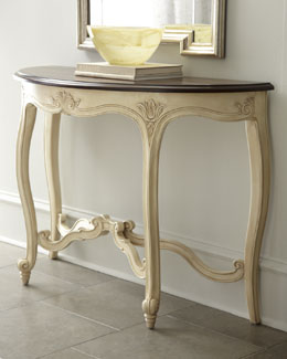 "Hillsdale Furniture ""Victoria"" Carved Console"