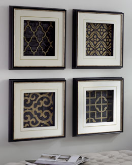 African Lattice Prints