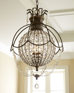 Encased Chandelier