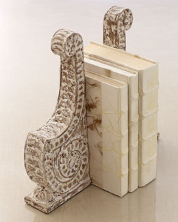"Bliss Studio ""Scroll"" Bookends"