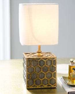 "Regina-Andrew Design Mini ""Global Square"" Lamp"