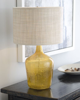 "Jamie Young ""Amber Plum Jar"" Lamp"