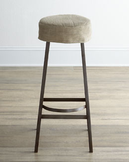 "Arteriors ""Nina"" Slipcovered Barstool"