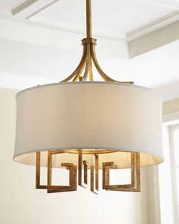 Regina-Andrew Design Shaded Chandelier