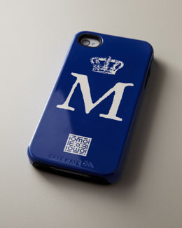 iomoi Single-Initial iPhone 4/4s Case