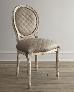 "NM EXCLUSIVE ""Limestone"" Side Chair"