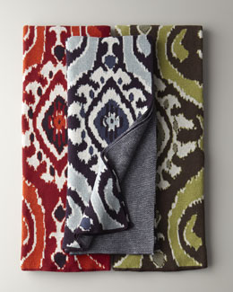"""Eco"" Ikat Throw"
