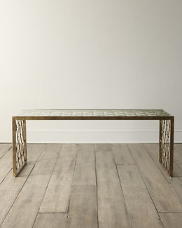 """Nerian"" Glass Coffee Table"