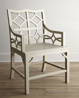"""Abrille"" Diamond Armchair"