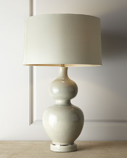 John-Richard Collection Double-Gourd Lamp