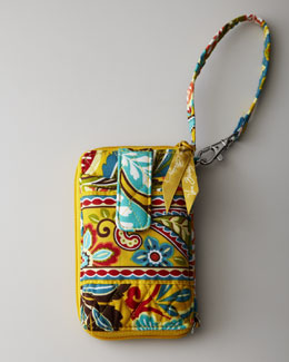 "Vera Bradley ""Provencal"" Carry it All Wristlet"