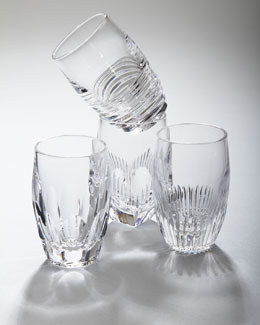 "Waterford Four ""Mixology"" Shot Glasses"