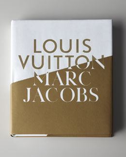"""Louis Vuitton/Marc Jacobs"" Hardcover Book"