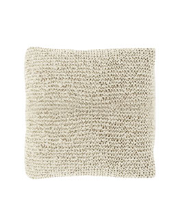 "Dransfield & Ross House Taos Knit Pillow, 20""Sq."
