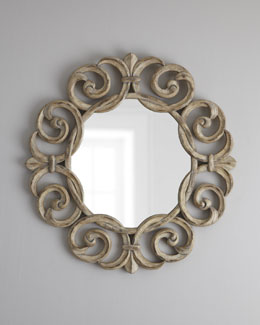 Intertwining Scroll Accent Mirror