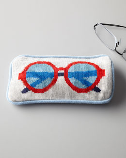 Jonathan Adler Needlepoint Eyeglass Case