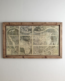 """Treasure Map"" Painting"