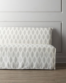 "Lee Industries ""Casandra"" Slipcover Banquette"