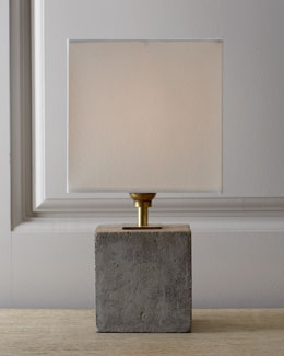 Regina-Andrew Design Concrete Cube Mini Lamp