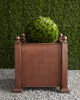"""Antique"" Square Planter"