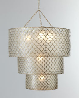 Three-Tier Moroccan Chandelier