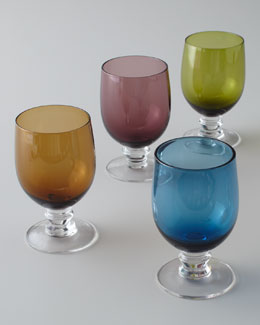 "Four ""Emory"" Juice Glasses"
