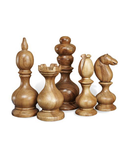 """Bernard"" Chess Pieces"