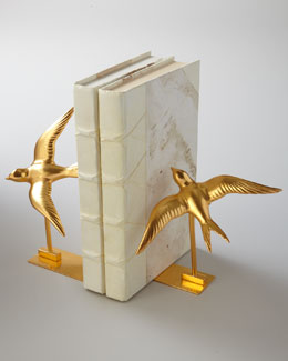 "BANCHI ""Swallow"" Bookends"