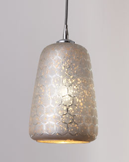 "Jamie Young ""Lattice"" Bell Pendant Light"