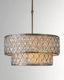 St. Germain Double Chandelier
