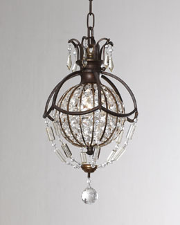 """Bellini"" One-Light Mini Pendant"