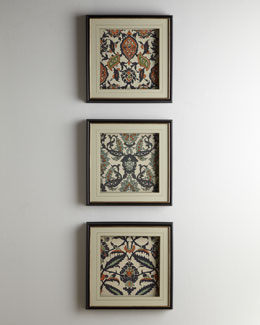 """Persian Tiles"" Wall Decor"