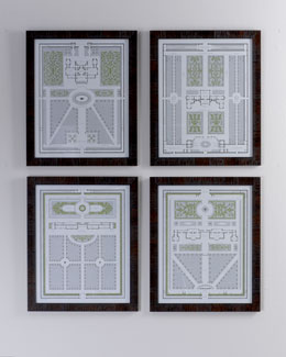 "Four ""Country Estates"" Prints"