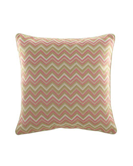 "Legacy Home Zigzag Pillow, 22""Sq."