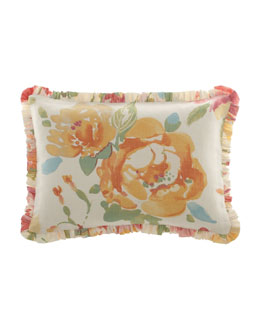 "Legacy Home Floral Pillow, 14"" x 20"""
