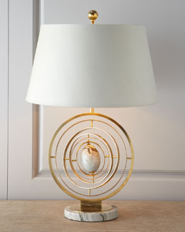 "John-Richard Collection Modern ""Armillary"" Lamp"