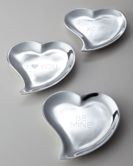 Mariposa Heart-Shaped Tray