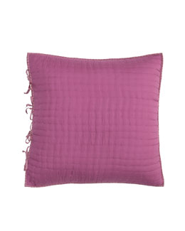 Designers Guild Reversible Quilted Silk European Sham