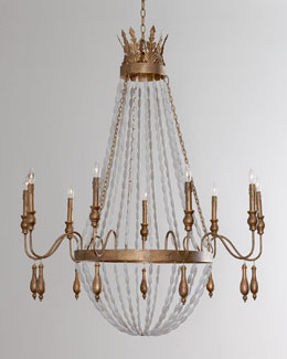 """Melisma"" Nine-Light Chandelier"