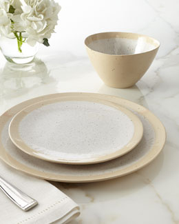 "12-Piece ""Speckled"" Dinnerware Service"