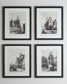 "Four ""Amsterdam Etchings"" Prints"