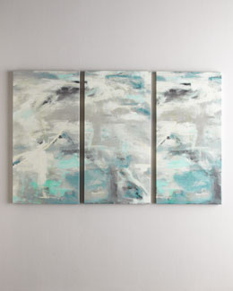 "Three ""As Clouds Go By"" Giclees"