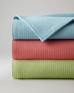 """SFERRA King Blanket, 120"""" x 100"""""""