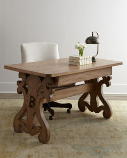 """Chic Scroll"" Writing Desk"