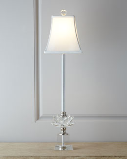 Crystal Buffet Lamp
